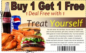 free coupon template