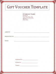 Click on the download button to get this Gift Voucher Template.