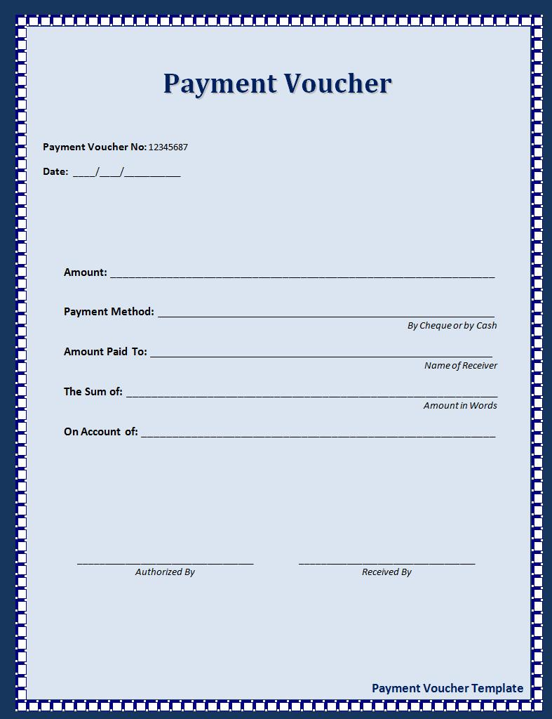 Click on the download button to get this payment voucher template