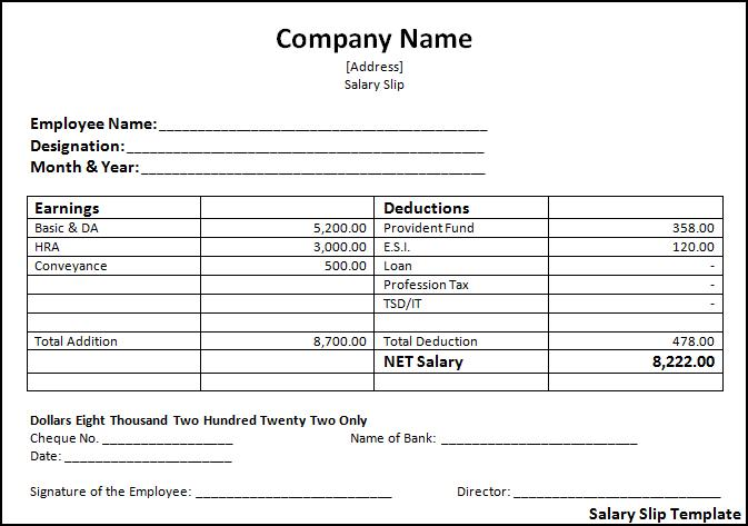 Payroll Forms Templates Payroll Template 15 Free Word Excel – Payroll Template