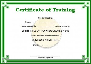 10 training certificate templates word excel pdf templates file size 7995 kb yadclub Choice Image