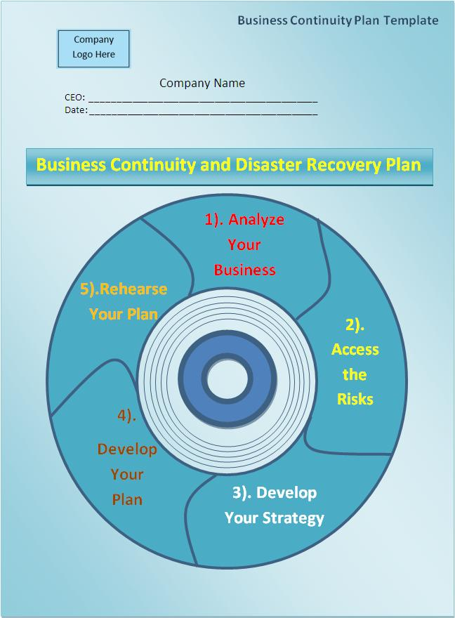 business resumption plan template - plan templates free word templates
