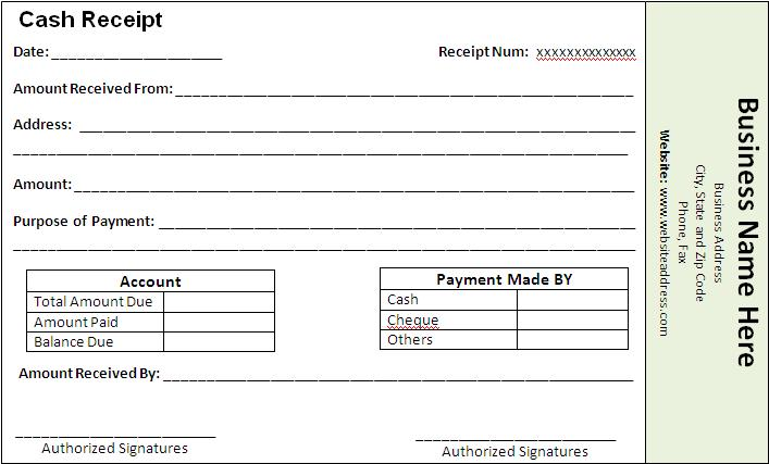receipts for payments template receipt templates free word 39 s templates
