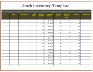 File Size : 15.06 KB ...  Inventory Template Word
