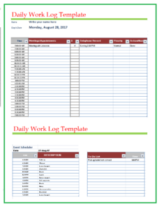 Daily work log templates free word templates file size 3550 kb pronofoot35fo Gallery