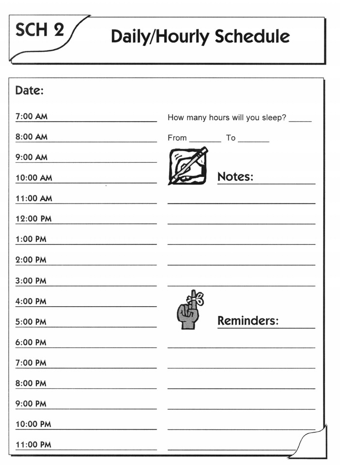 Daily Time Planner Template from www.wordstemplates.org