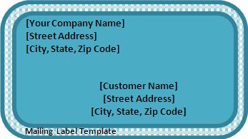 Address Label Template For Word from www.wordstemplates.org