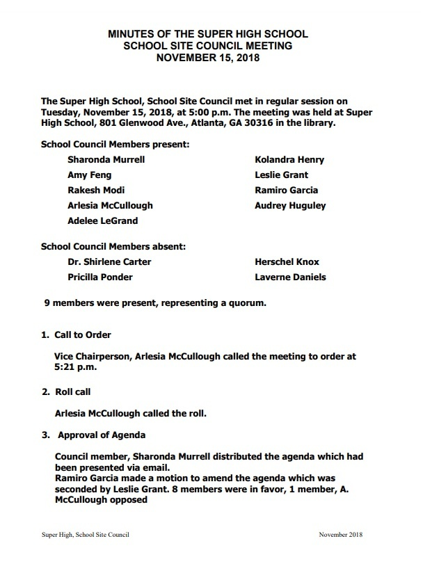 Informal Meeting Minutes Template from www.wordstemplates.org
