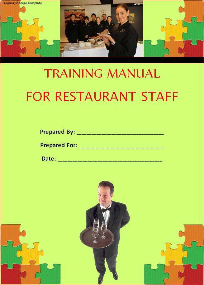 free training manual template