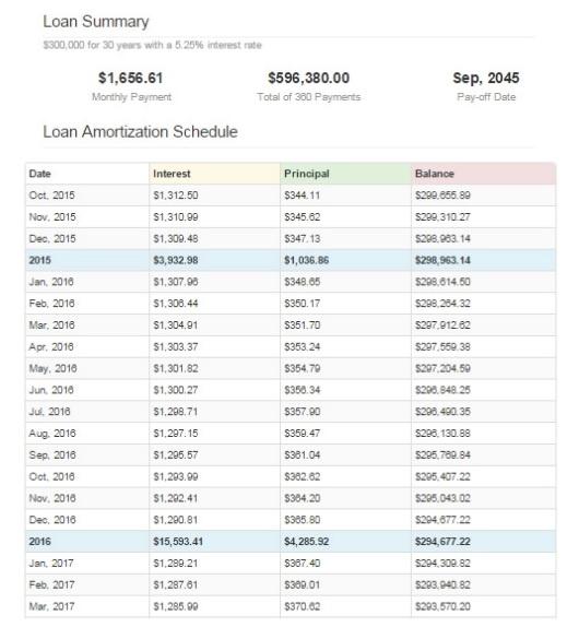 blank amortization schedule template