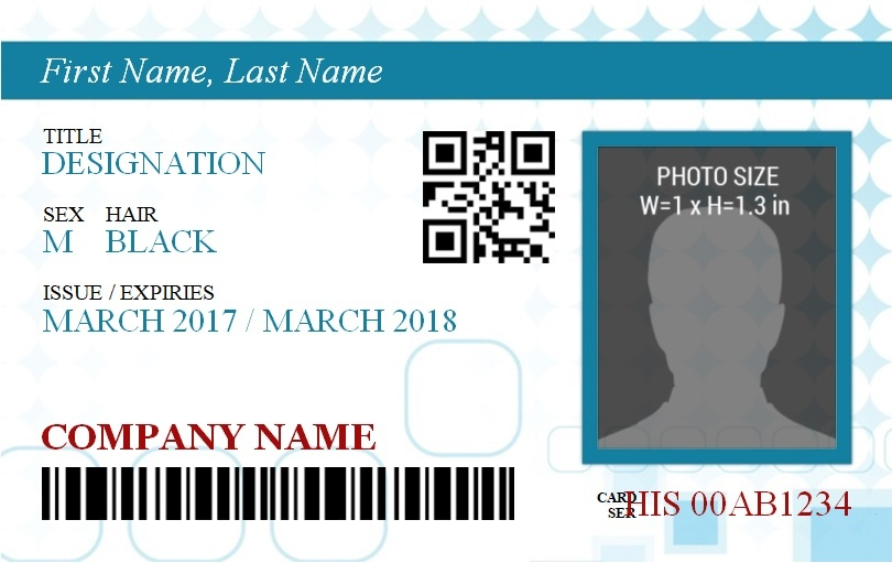 Id Badge Template Free Word Templates
