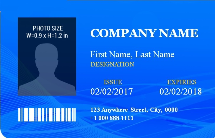 ID Badge Templates | 14+ Free Printable Word, PDF & Excel ...