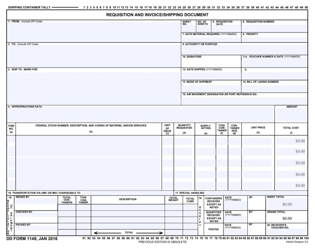 Shipping Invoice Templates | 17+ Free Word, Excel & PDF ...