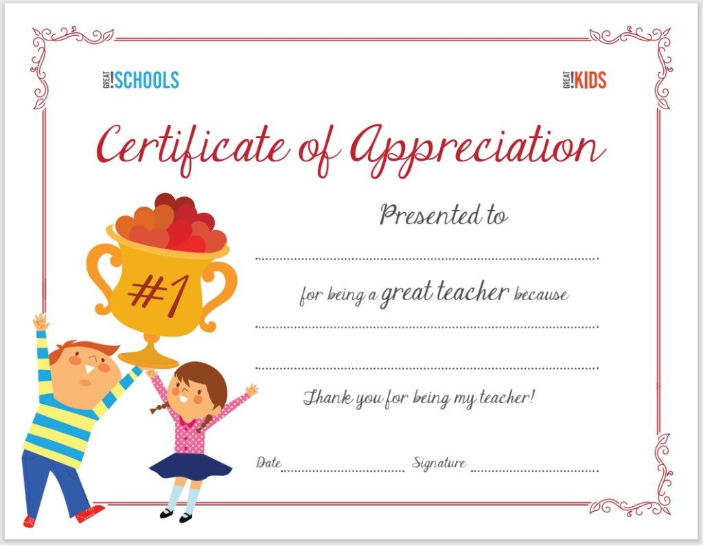 Certificate of Appreciation Template  Free Word Templates In Gratitude Certificate Template